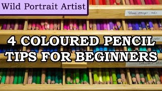 4 Tips for Beginner Coloured Pencil Artists #2