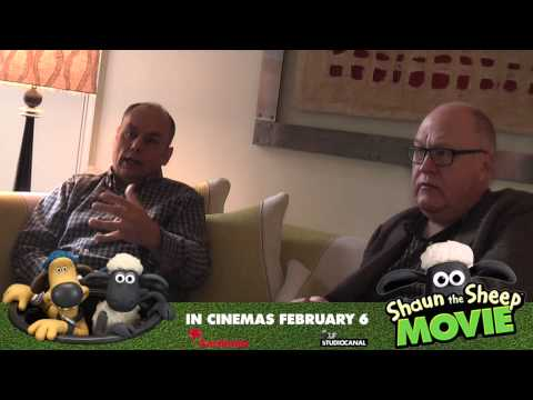 Interview: Mark Burton + Richard Starzak | Shaun the Sheep Movie (The Fan Carpet)