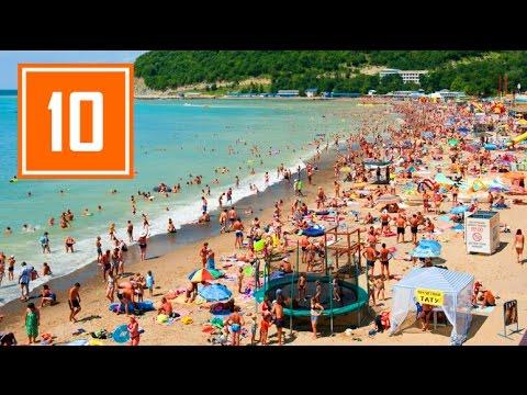 10 САМЫХ ЛУЧШИХ ПЛЯЖЕЙ РОССИИ в 2018 / Море, пляж, песок, отдых