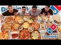 ENTIRE DOMINOS MENU IN 10 MINUTES CHALLENGE