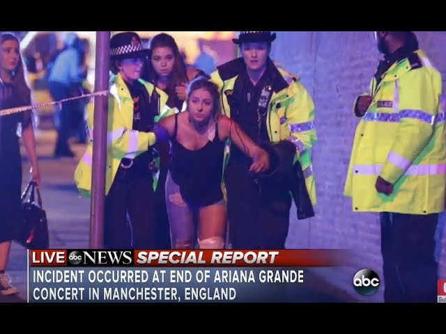 Ariana Grande concert explosion at Manchester  | At least 19 dead  in attack