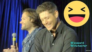 J2 On Giving Their Kids 'THE TALK' & Jensen LOSES IT! Montreal Con 2018