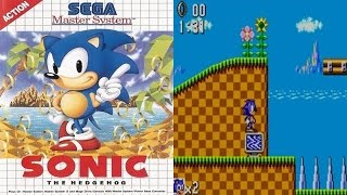[Sonic The Hedgehog (Master System) Gamplay Rétro] Video
