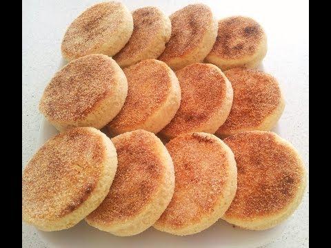 Reteta Harcha — Semolina Bread — الحرشة بالحليب
