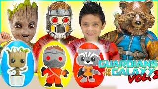NEW Guardians Of The Galaxy Play Doh Surprise Eggs Disney Review New Kids Toys Costumes Groot Toy