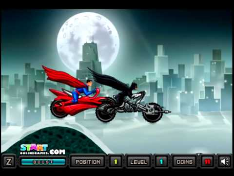 Batman vs superman Heroes Ride