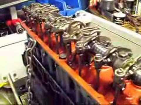 Chevrolet 235 Engine On Simtester Youtube