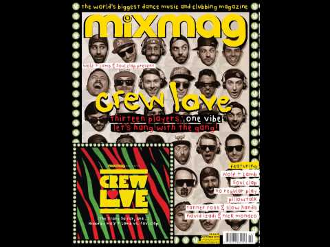 Crew Love Mixmag Cover CD October 2013