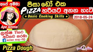 Pizza dough by Apé Amma