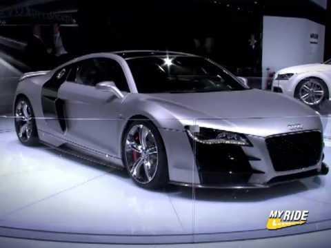 2008 Audi R8 V12 Tdi Concept. Detroit: Audi R8 V-12 TDI Concept
