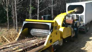 WOODSMAN CHIPPER WHOLE TREE CHIPPING