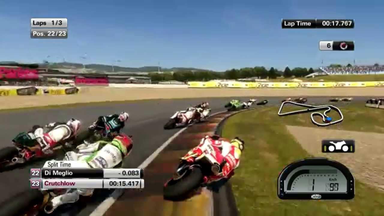 MotoGP 2014 (Game) Gameplay (Dry) [PC + HD] - YouTube