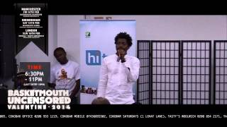 Basket Mouth on girl's underwear - BASKETMOUTH UNCENSORED (Valentine Special)