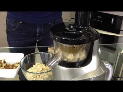 Slow Juicer Peanut Butter : Angel Juicer And Nut Butter Attachment How To Make & Do Everything!