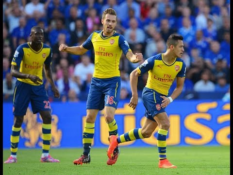 Leicester City vs Arsenal 1-1  All goals and Highlights 31/08/14 | (Barclays Premier League) | HD
