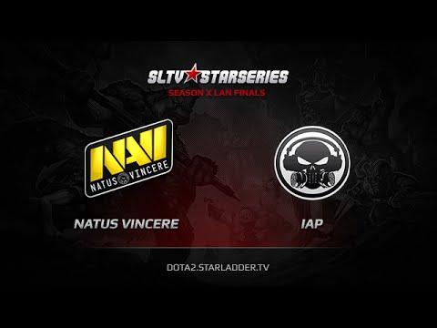 NaVi vs IAP SLTV StarSeries X Finals Game 4