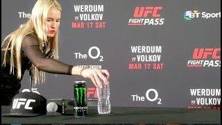 UFC Fight Night London Werdum vs. Volkov Post Fight Presser.