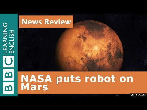 Nasa lands on Mars: BBC News Review