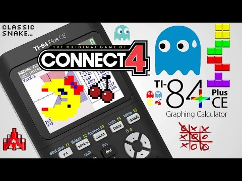 How to download games on TI 84 Plus CE