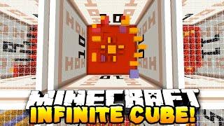 Minecraft - INFINITE CUBE PARKOUR! #1 (Never Ending Parkour!) w/ PrestonPlayz