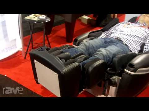 CEDIA 2013: INADA Explains the Sogno DreamWave Message Chairs