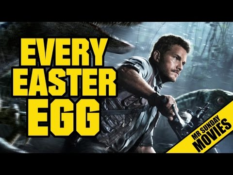 JURASSIC WORLD - Every Easter Egg & Reference