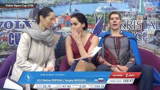 Betina POPOVA / Sergey MOZGOV - Volvo Open Cup 37th - Senior Ice Dance - FD - November 08, 2018