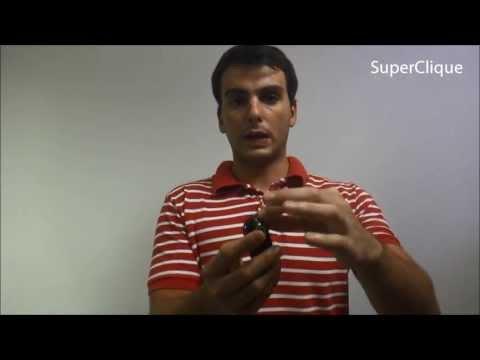 Mini filmadora e câmera espiã com sensor de presença e ativação por movimento