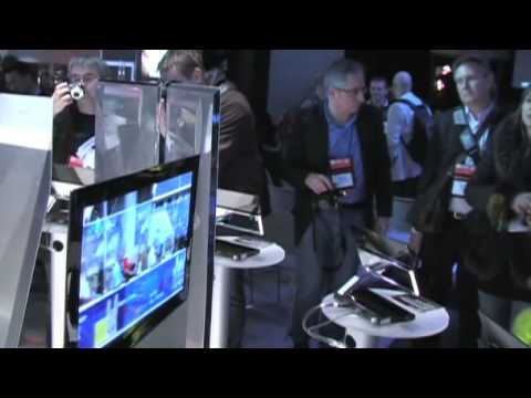 CES 2009: Sony OLED TVs and Technology