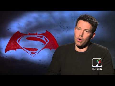 Ben Affleck / Bruce Wayne / Batman Interview  Batman V Superman