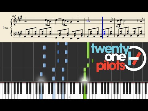 twenty one pilots: We don't believe what's on TV - Piano Tutorial + Sheets