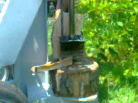 Hidraulicni cepac za ogrebno drvo