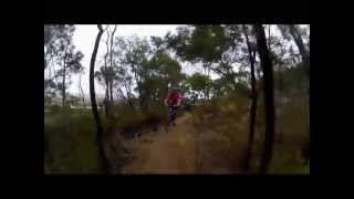 Mountain Biking at You Yangs, Victoria.