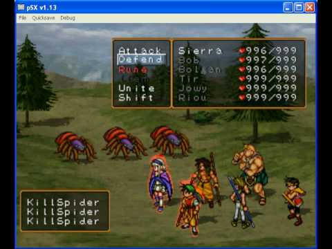 Suikoden 2 - Damage Limit Broken!!