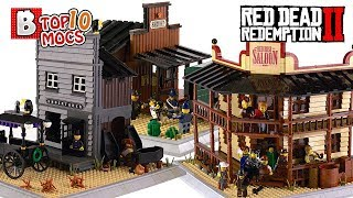 Howdy, PARTNER! Red Dead Redemption II in LEGO! | TOP 10 LEGO Creations (MOCs)