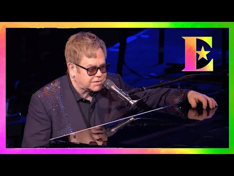 Elton John Dedication to Prince