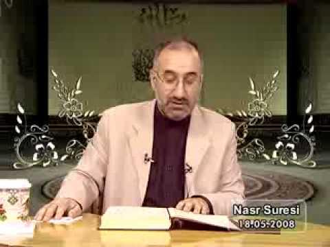 520-2 NASR SURESİ - Mustafa İslamoğlu - Akabe Vakfı - Tefsir...