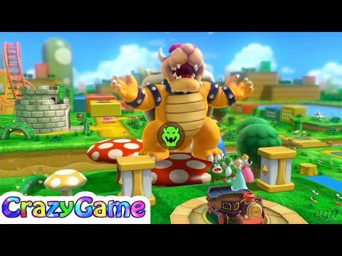 Mario Party 10 Bowser Party #21 Mushroom Park (Team Bowser)