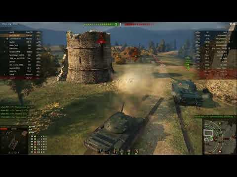 World of tanks.  [Обзор без купюр] Т-54 облегченный. Легкий танк СССР  Часть 2.