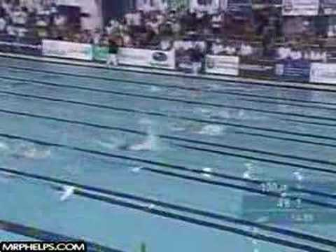 Michael Phelps World Record 200m Fly Video