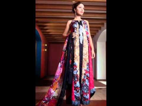 Pakistani Model Ayyan Ali In Pakistani Fashion Dresses 2013 002 video