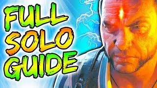 """FULL """"VOYAGE OF DESPAIR"""" SOLO EASTER EGG GUIDE! // ALL STEPS & BOSS TUTORIAL! // BLACK OPS 4 ZOMBIES"""