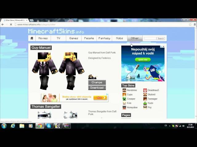 Minecraft - jak mit skin zdarma