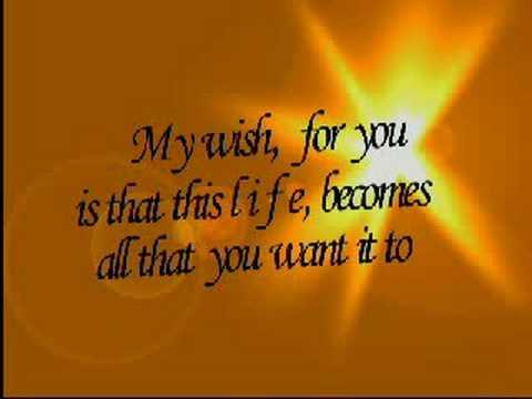 My Wish by Rascal Flatts with lyrics Free Happy Birthday eCards – Happy Birthday Card with Song