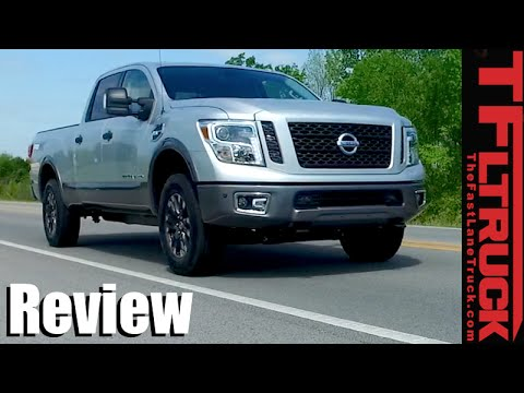 2016 Nissan Titan XD with 5.6L Gas Engine First Drive Review