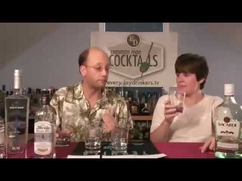 Light Rum Blind Tasting (historic video re-launched)