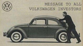 Calling on all Volkswagen Investors - Stichting Volkswagen Investors Claim