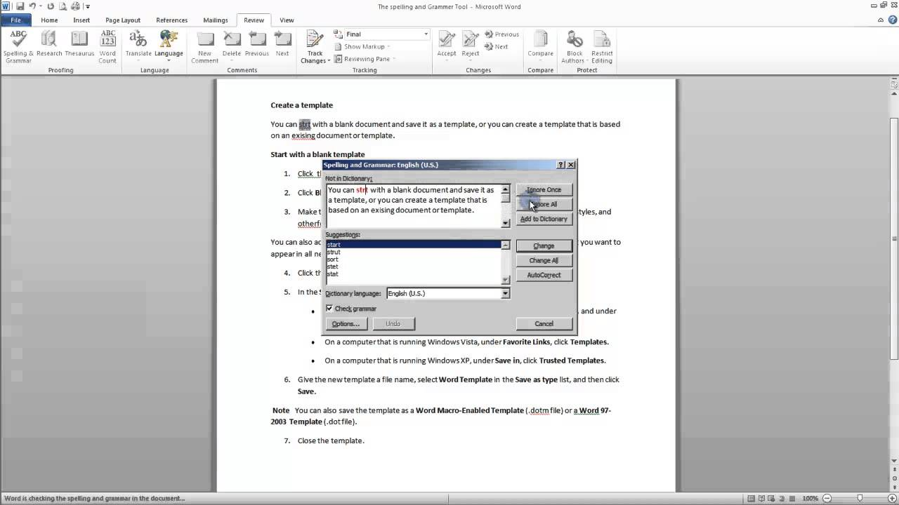 MS Word Online Practice Tests  wwwTestsTestsTestscom
