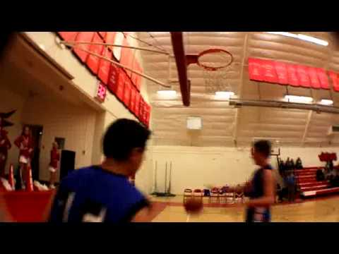 ROsamond High School Varstiy Basket Ball Dunk