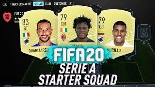 *LIVE* FIFA 20 CHEAP STARTER SQUAD BUILDER - FIFA 20 Starter Squads